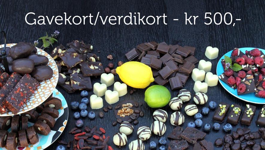Gavekort/verdikort - kr 500,-