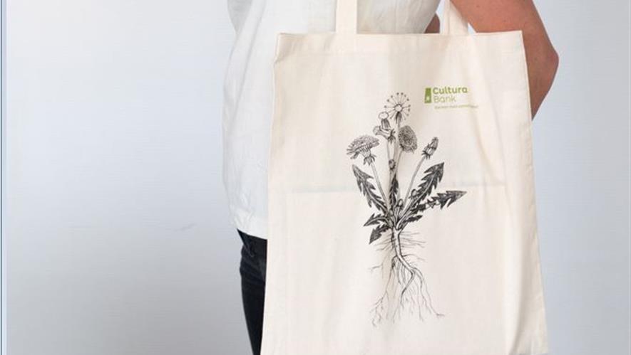 Bærenett i økologisk, fairtrade bomull