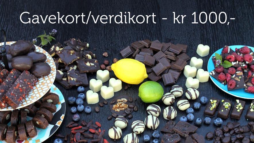 Gavekort/verdikort - kr 1000,-